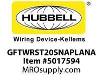 HBL_WDK GFTWRST20SNAPLANA 20A COM ST TRWR SNAP GFR USA LT ALM