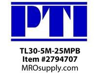PTI TL30-5M-25MPB HTD PLAIN BORE PULLEY P1- HTD TIMING PULLEYS