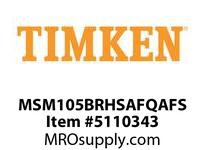 TIMKEN MSM105BRHSAFQAFS Split CRB Housed Unit Assembly