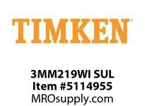 TIMKEN 3MM219WI SUL Ball P4S Super Precision