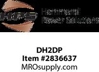 HPS DH2DP D16-DH2 ENCLOSURE MOUNTING KIT Accessories