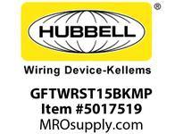 HBL_WDK GFTWRST15BKMP 15A BLACK GFR TRWR ST MID SZ PL