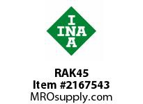 INA RAK45 Pillow block unit