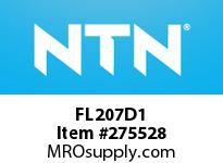 NTN FL207D1 CAST HOUSINGS