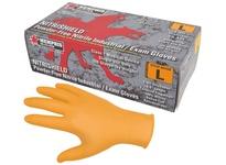 MCR 6010OM Nitri-Med Orange 4 Mil Powder Free Medical Grade Textured