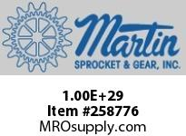 100E28 Roller Chain Sprocket QD Bushed