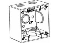 Orbit 2DB100-5 2-G W/P BOX 5 1^ HUBS 2-5/8^ DEEP