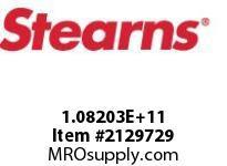STEARNS 108203202073 THRU SHFTBRASS PR PLHTR 8001980