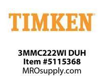 TIMKEN 3MMC222WI DUH Ball P4S Super Precision