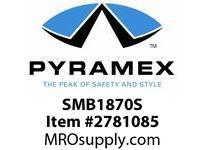 Pyramex SMB1870S Metallic Blue Frame/Silver Mirror Lens