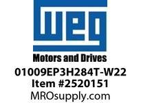 WEG 01009EP3H284T-W22 10HP 900 3 60 575V TEFC Epact