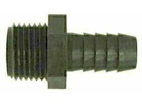 MRO 33014W 3/8 X 1/2 HB X MIP WHT NYLN ADPT (Package of 10)