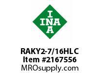 INA RAKY2-7/16HLC Pillow block unit