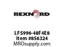 REXNORD LF5996-48F4E8 LF5996-48 F4 T8P LF5996 48 INCH WIDE MATTOP CHAIN WI