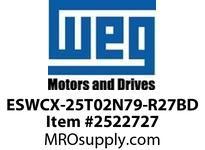 WEG ESWCX-25T02N79-R27BD XP FVNR 3HP/460 N79 230/120V Panels