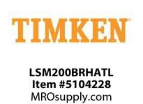 TIMKEN LSM200BRHATL Split CRB Housed Unit Assembly
