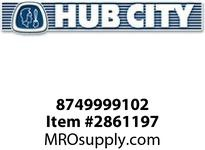 HUB CITY 8749999102 EXCLUDER SEAL 5.250X6.750X.625 Service Part