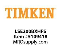 TIMKEN LSE200BXHFS Split CRB Housed Unit Assembly