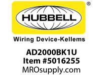HBL_WDK AD2000BK1U WALL SWVAC/OCCDT1R120/277VBK USA