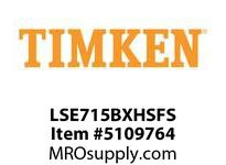 TIMKEN LSE715BXHSFS Split CRB Housed Unit Assembly