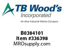 TBWOODS B0384101 FLEX DISC 6 BOLT