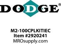 DODGE M2-100CPLKITIEC MTA SIZE 2115 100IEC COUPLING KIT RENEWAL PARTS