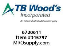 TBWOODS 6720611 FALK ASSEMBLY