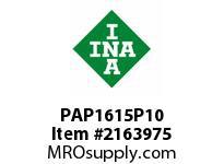 INA PAP1615P10 Plain bearing