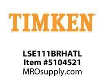 TIMKEN LSE111BRHATL Split CRB Housed Unit Assembly