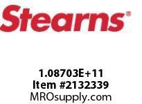 STEARNS 108703100082 BRK-RL TACH MACHW/O HUB 8027654