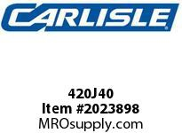 Carlisle 420J40 J Bulk Sleeves
