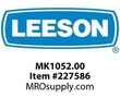 LEESON MK1052.00 1/2HP 3500RPM 56 DP 115/230V 1PH 60HZ CONT AUTOMATIC 50C 1 95SF C FACE POOL PUMP-KEYED SHAFT A6P34DC8A
