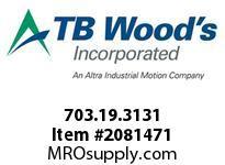 TBWOODS 703.19.3131 MULTI-BEAM 19 3/8 --3/8