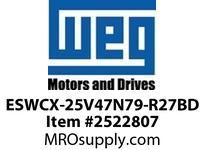 WEG ESWCX-25V47N79-R27BD XP FVNR 3HP/460 N79 460V Panels