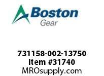 "BOSTON 78751 731158-002-13750 ROTOR 1605-2 1.3750"""