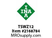 INA TSWZ12 Linear shaft support rail