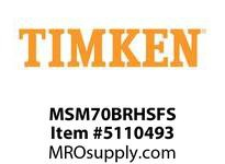 TIMKEN MSM70BRHSFS Split CRB Housed Unit Assembly