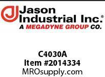 Jason C4030A 4X3 C AL CPLR X SHANK