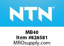 NTN MB40 Locking washer for sleeve