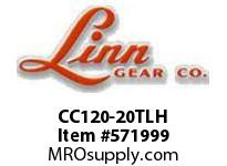 Linn-Gear CC120-20TLH TAPER-LOCK COUPLING SPROCKET  H1