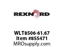 REXNORD WLT8506-61.67 WLT8506-61.66 WLT8506 61.67 INCH WIDE MATTOP CHAI