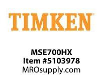 TIMKEN MSE700HX Split CRB Housed Unit Component