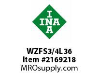 INA WZFS3/4L36 Linear fast shaft precision