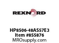 REXNORD HP8506-48AS57E3 HP8506-48 3AS-T57P HP8506 48 INCH WIDE MATTOP CHAIN WI