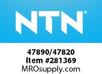 NTN 47890/47820 MEDIUM SIZE TAPERED ROLLER BRG