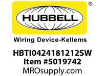 HBL_WDK HBTI0424181212SW WBPFM INTER4Hx24Wx18Wx12Wx12WSTLWLL