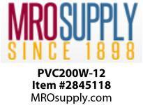 """MRO OPEN ENDS BY WIDTH MATERIAL:PVC200 WHITE C x FS WIDTH: 12"""""""