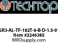 Techtop GR3-AL-TF-182T-6-B-D-1.5-01 PREMIUM EFFICIENCY3 PHASE Aluminiu