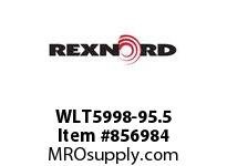 REXNORD WLT5998-95.5 WLT5998-95.5 WLT5998 95.5 INCH WIDE MATTOP CHAIN