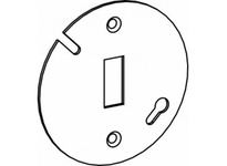 Orbit 3RC-TS 3-1/4^ ROUND COVER FOR TOGGLE SWITCH